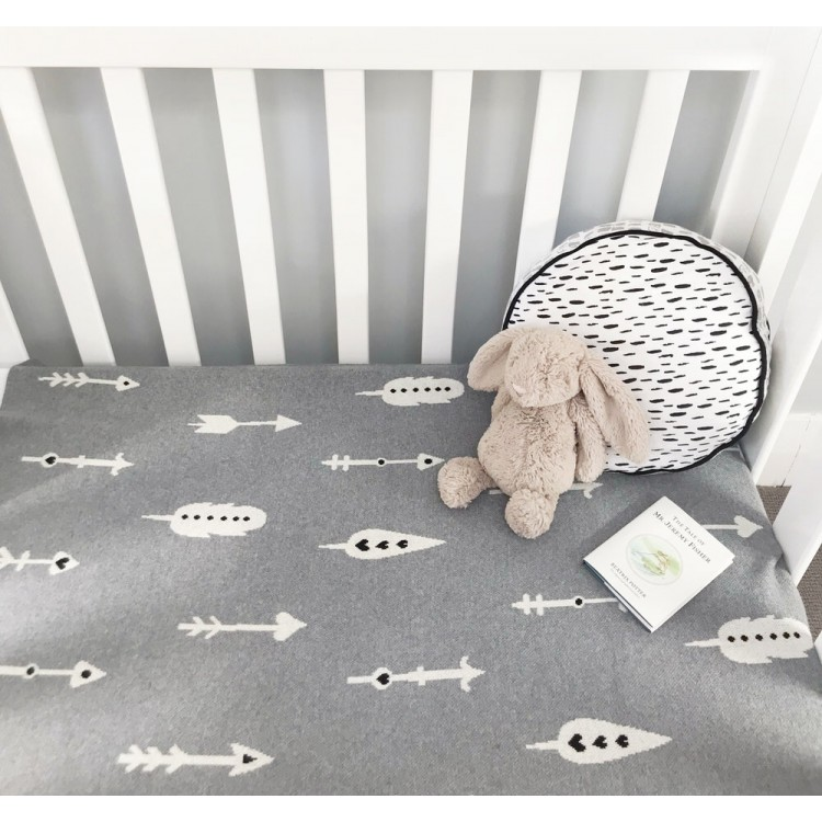 Arrow Baby Blanket - Approved essential - we can deliver
