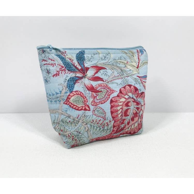 Blue Liberty Cosmetic Bag