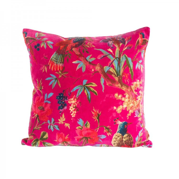 Hot Pink Paradise Cushion