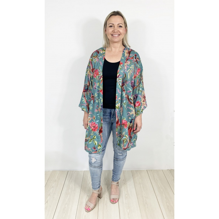 Dusty Turquoise Paradise Jacket