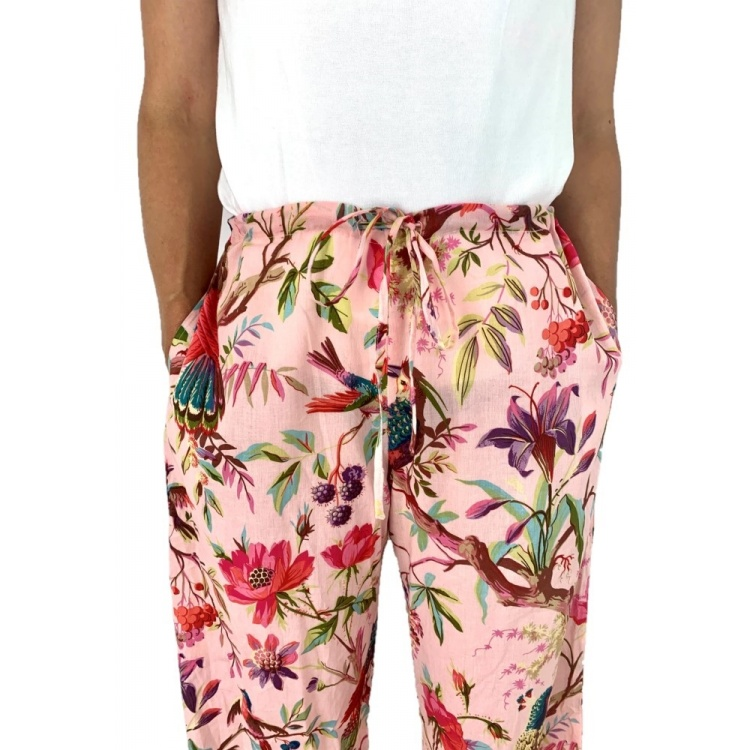 Rose Paradise Lounge Pants with pockets
