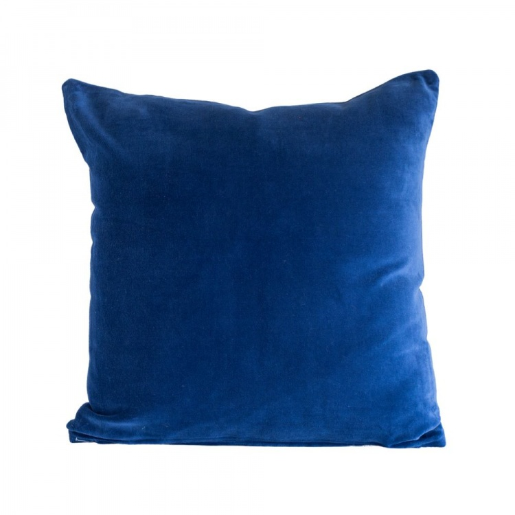 Indigo velvet Cushion