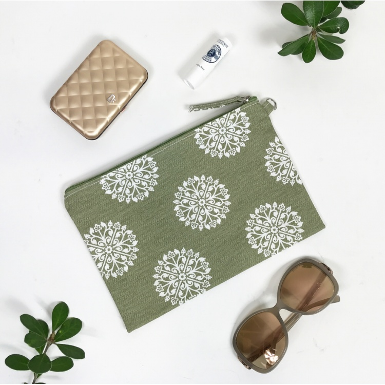 Green Persia Pouch