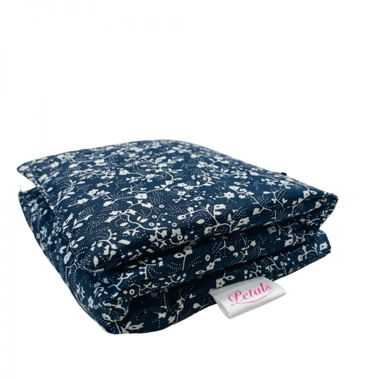Floral Navy Wheat Bag